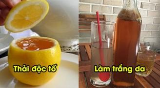 2 cách dùng mật ong đơn giản, thải độc cơ thể cực tốt, giúp da trắng mịn, hồng hào